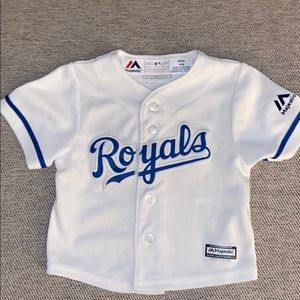 Like new Royals baseball jersey